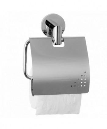 Accesorii pentru baie - Suport hartie igienica cu capac, Jofel AW41300 - arli.ro