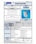 Uscatoare de maini verticale - Uscator de maini vertical, inox si ABS - Jofel Infinity Jet - arli.ro