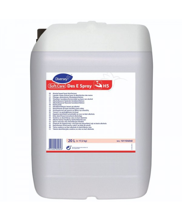 Dezinfectanti pentru maini - - Dezinfectant pentru maini - Soft Care Des E  Spray - 20 litri - arli.ro