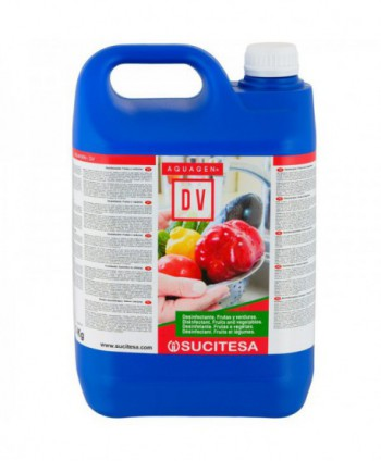 Dezinfectanti pentru suprafete - Dezinfectant fructe si legume - Aquagen DV - 5 litri - arli.ro