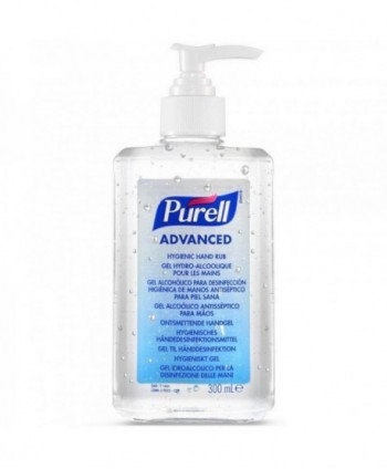 Dezinfectanti pentru maini - Gel dezinfectant pentru maini - Purell Advanced - 300 ml cu pompita - arli.ro