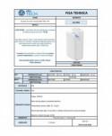 Uscatoare de maini verticale - Uscator de maini vertical, alb - ArliTech Jet - arli.ro