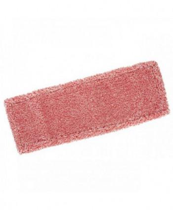 Mopuri profesionale - Mop din microfibra cu buzunare, rosu - 40 cm - arli.ro
