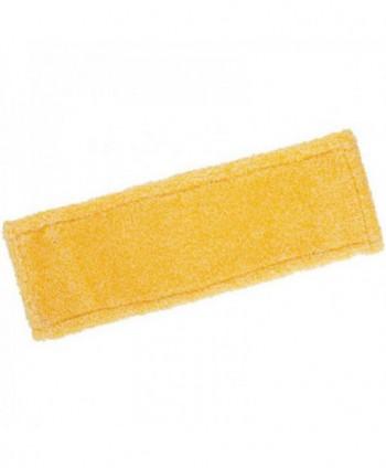 Mopuri profesionale - Mop din microfibra cu buzunare, galben - 40 cm - arli.ro