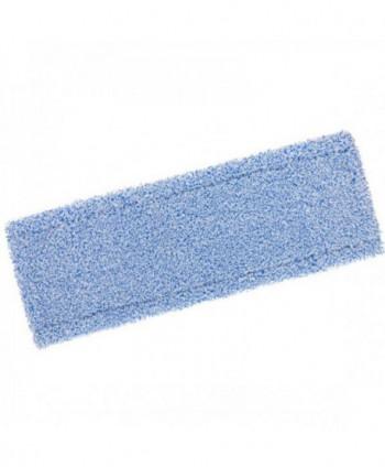 Mopuri profesionale - Mop din microfibra cu buzunare, albastru - 40 cm - arli.ro