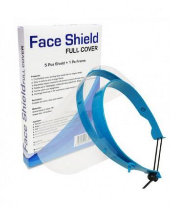 Masti, manusi, viziere - Viziera profesionala protectie faciala 5 in 1  (1 suport + 5 ecrane) - arli.ro