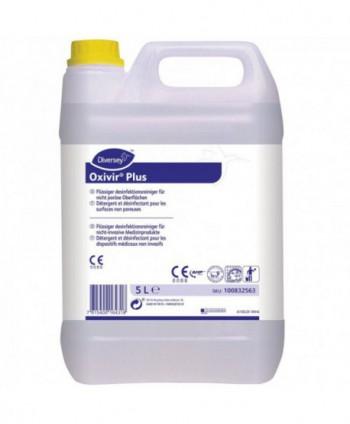Dezinfectanti pentru suprafete - Detergent dezinfectant pentru suprafete - Oxivir Plus - 5 litri - arli.ro