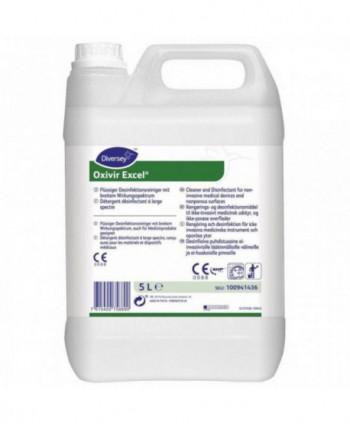 Dezinfectanti pentru suprafete - Detergent dezinfectant pentru suprafete - Oxivir Excel - 5 litri - arli.ro