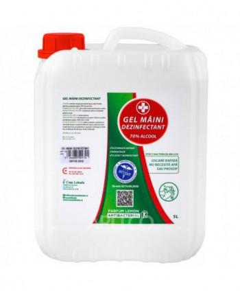 Dezinfectanti pentru maini - Gel dezinfectant pentru maini Lebada - 5 litri - arli.ro