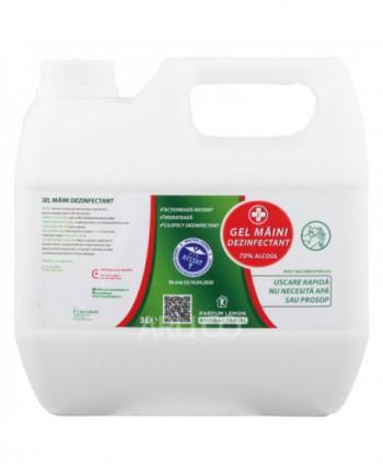 Dezinfectanti pentru maini - Gel dezinfectant pentru maini Lebada - 3 litri - arli.ro