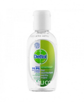 Dezinfectanti pentru maini - Gel dezinfectant pentru maini - Dettol - 50 ml - arli.ro