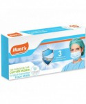 Masti, manusi, viziere - Masca de protectie chirurgicala, CE, 3 straturi - Cutie cu 10 bucati - arli.ro