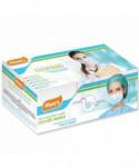 Masti, manusi, viziere - Masca de protectie chirurgicala, CE, 3 straturi - Cutie cu 25 bucati - arli.ro