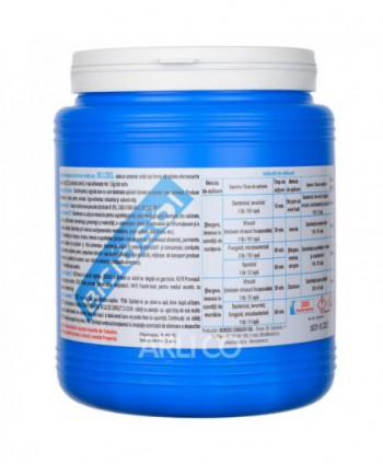 Dezinfectanti pentru suprafete - Dezinfectant clorigen efervescent de nivel inalt - Biclosol - 300 buc/cutie - arli.ro