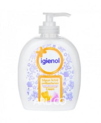 Dezinfectanti pentru maini - Sapun lichid antibacterian - Igienol Cream - 300 ml - arli.ro