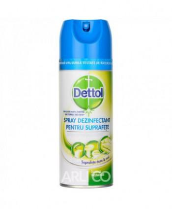 Dezinfectanti pentru suprafete - Spray dezinfectant pentru suprafete Dettol Spring Waterfall - 400ml - arli.ro