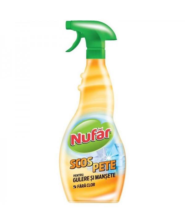 Detergenti si solutii de curatat - - Solutie pt scos pete de pe gulere si mansete - Nufar - arli.ro