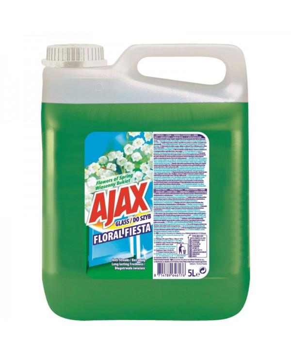 Detergenti si solutii de curatat - - Detergent geamuri - Ajax Floral Fiesta 5 L - arli.ro