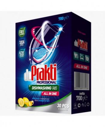 Detergenti si solutii de curatat - Detergent masina spalat vase - Dr Prakti 35 tablete - arli.ro