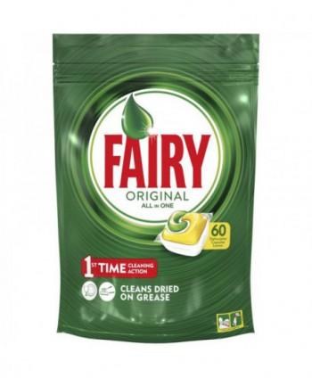 Detergenti si solutii de curatat - Detergent masina spalat vase - Fairy Original 60 tablete - arli.ro