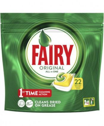 Detergenti si solutii de curatat - Detergent masina spalat vase - Fairy Original 22 tablete - arli.ro