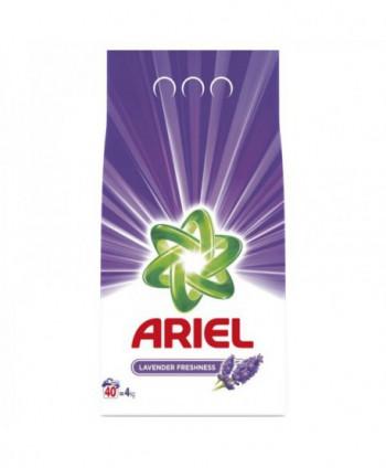 Detergenti si solutii de curatat - Detergent praf pentru rufe Ariel Lavender Freshness - 4 Kg - arli.ro