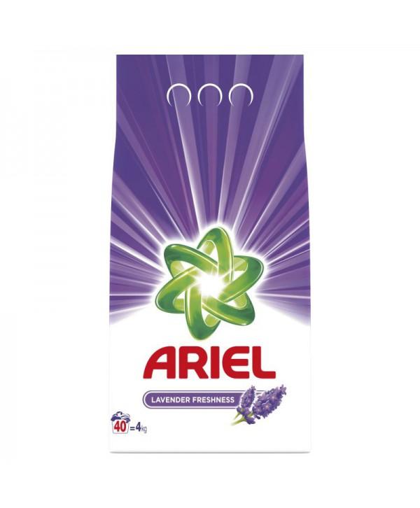 Detergenti si solutii de curatat - - Detergent praf pentru rufe Ariel Lavender Freshness - 4 Kg - arli.ro