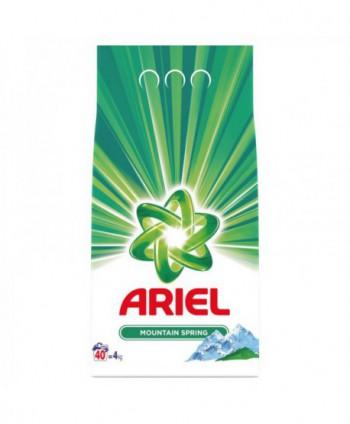 Detergenti si solutii de curatat - Detergent praf pentru rufe Ariel Mountain Spring - 4 Kg - arli.ro