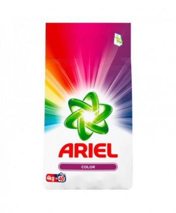 Detergenti si solutii de curatat - Detergent praf pentru rufe Ariel Color - 4 Kg - arli.ro