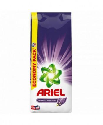 Detergenti si solutii de curatat - Detergent praf pentru rufe Ariel Lavender Freshness  - 10 Kg - arli.ro