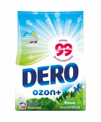 Detergenti si solutii de curatat - Detergent praf pentru rufe Dero 2 in 1 Ozon+ Roua muntelui - 20 Kg - arli.ro