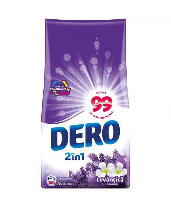 Detergenti si solutii de curatat - - Detergent praf pentru rufe Dero 2 in 1 Levantica si iasomie - 10 Kg - arli.ro