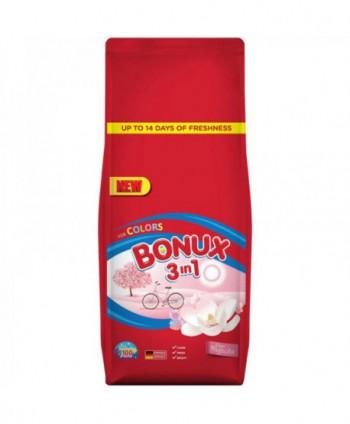 Detergenti si solutii de curatat - Detergent praf pentru rufe Bonux 3 in 1 Pure Magnolia Colors - 10 Kg - arli.ro