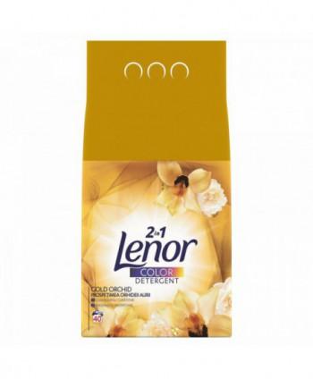 Detergenti si solutii de curatat - Detergent praf pentru rufe Lenor 2 in 1 Gold Orchid Color - 4 Kg - arli.ro