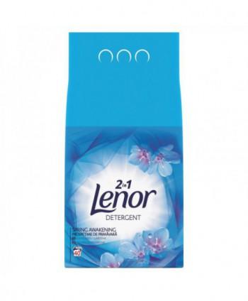 Detergenti si solutii de curatat - Detergent praf pentru rufe Lenor 2 in 1 Spring Awakening - 4 Kg - arli.ro