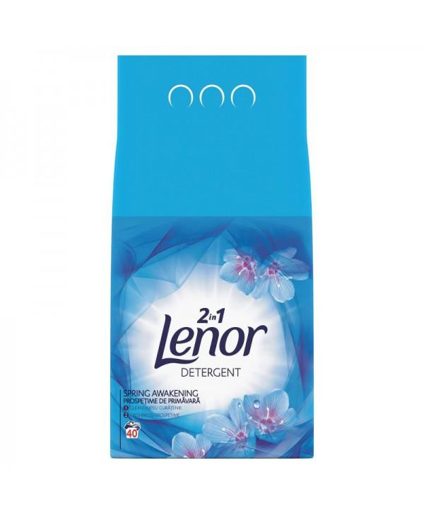 Detergenti si solutii de curatat - - Detergent praf pentru rufe Lenor 2 in 1 Spring Awakening - 4 Kg - arli.ro
