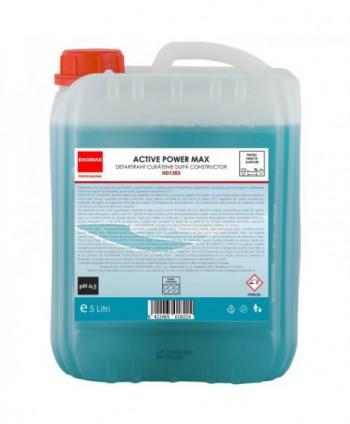 Detergenti si solutii de curatat - Detartrant curatenie dupa constructor Active Power Max - Ekomax 5 litri - arli.ro