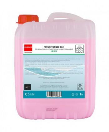 Detergenti si solutii de curatat - Detergent pardoseli Fresh Turbo 24H - Ekomax 5 litri - arli.ro