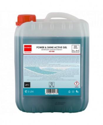 Detergenti si solutii de curatat - Detergent sanitar Power Shine Active Gel - Ekomax 5 litri - arli.ro