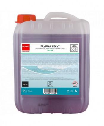 Detergenti si solutii de curatat - Detergent spumant pentru spalari grele Pavimax Heavy - Ekomax 5 litri - arli.ro