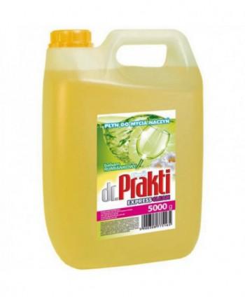 Detergenti si solutii de curatat - Detergent vase Clovin Dr. Prakti - Musetel 5L - arli.ro
