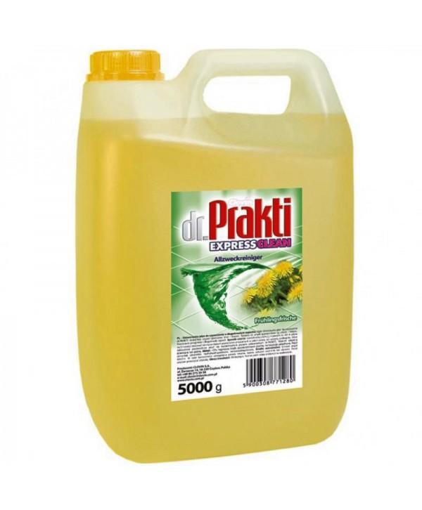 Detergenti si solutii de curatat - - Detergent multisuprafete Clovin Dr.Prakti - Spring Fresh 5L - arli.ro