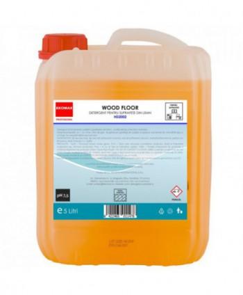Detergenti si solutii de curatat - Detergent pentru suprafete din lemn Wood Floor - Ekomax 5 litri - arli.ro