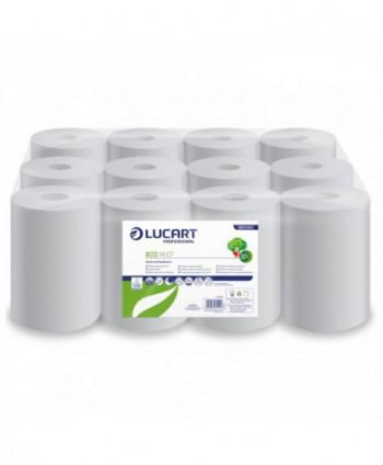 Consumabile din hartie - Prosop de hartie Lucart Eco, reciclat, 55 metri - pachet 12 role - arli.ro