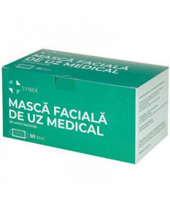 Masti, manusi, viziere - Masca de protectie tip IIR, dispozitiv medical avizat A.N.M.D.M.R.- Cutie cu 50 bucati - arli.ro