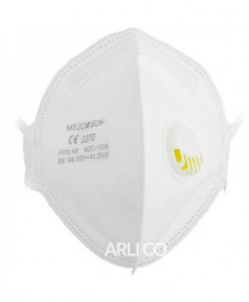 Masti, manusi, viziere - Masca de protectie FFP3 Mezorison, CE 0370, ambalata individual - arli.ro