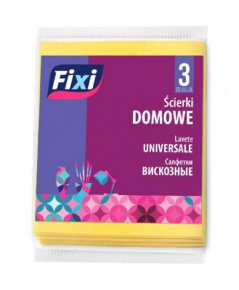 Lavete profesionale - Lavete universale Fixi - 3 bucati - arli.ro