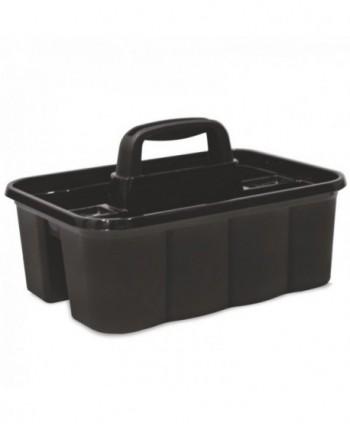 Materiale de curatenie - Suport pentru transportul produselor de curatenie, negru - arli.ro