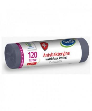 Saci menajeri - Saci menajeri antibacterieni, gri, Stella - 120 litri - arli.ro