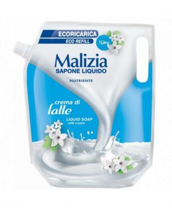 Consumabile (sapunuri, geluri, creme) - Sapun lichid Malizia Crema di Latte - 1000 ml - arli.ro